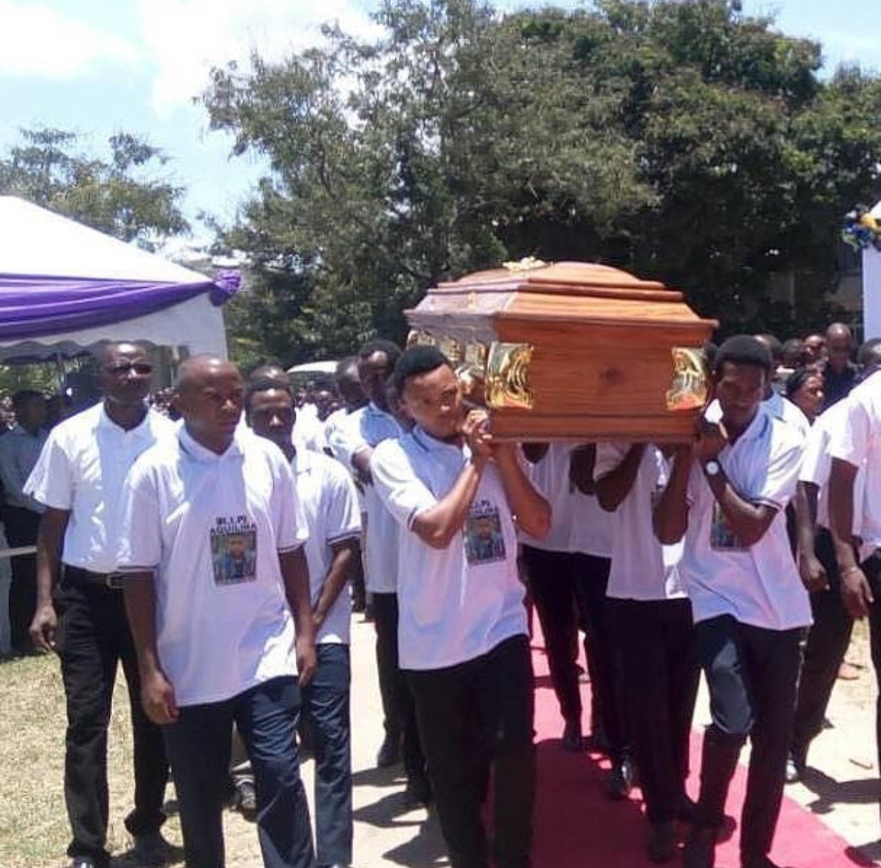 University student Akwilina Akwilini shot dead by a police man finally laid to rest