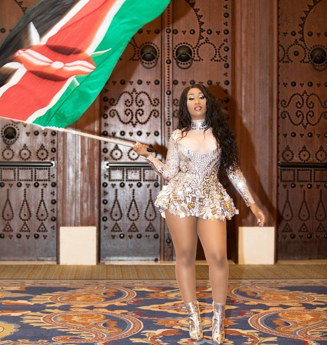 Victoria Kimani throws shade at two faced fans judging her projects with Nigeria artists!