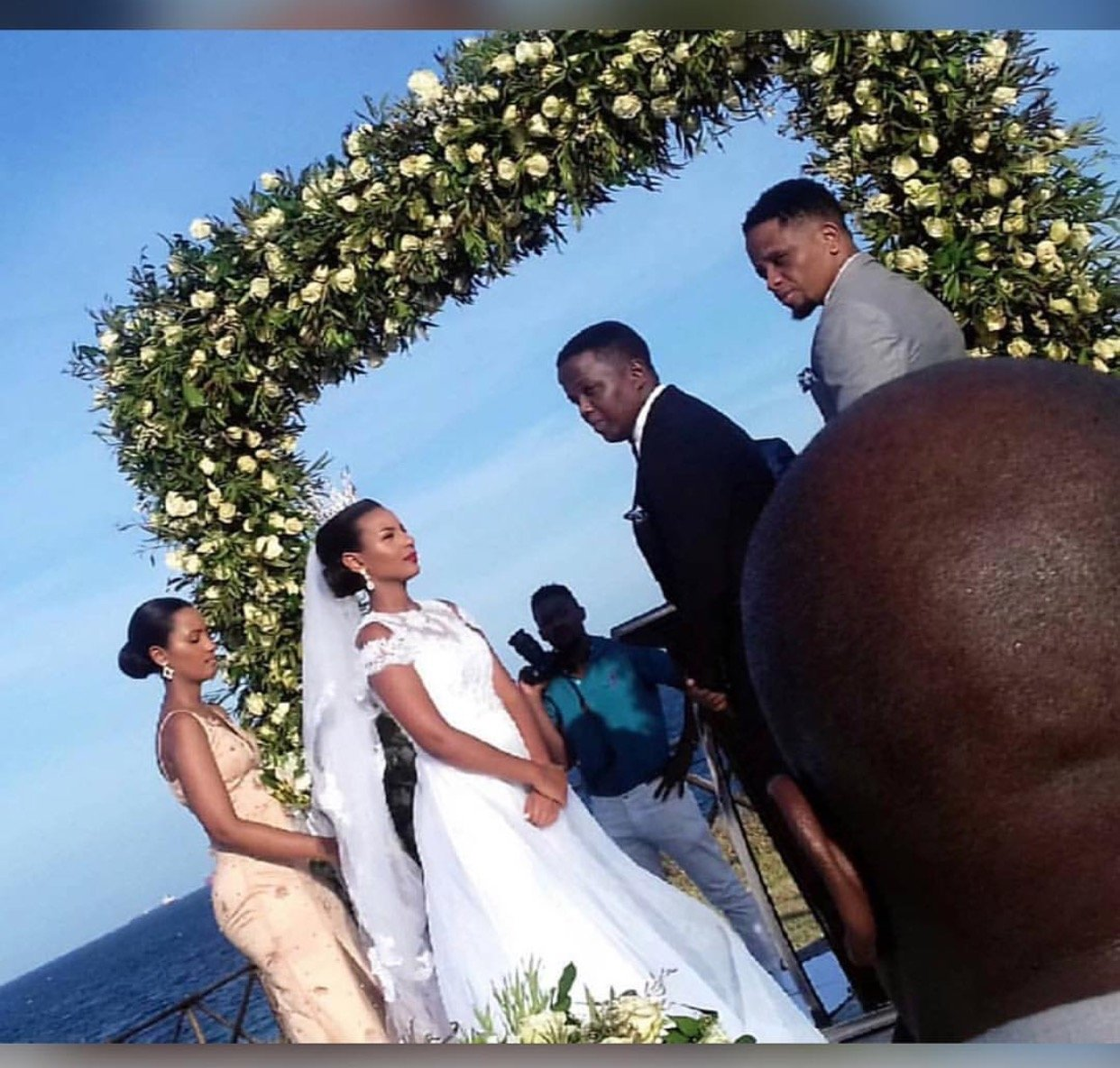 AY finally weds his lovely bride in colorful wedding (Photos)
