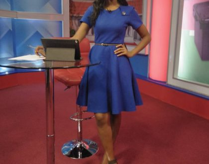 KTN news anchor shows off her baby bump a few months after her traditional wedding!