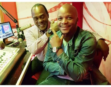 """I just want to be like Jeff Koinange"" Jalang'o praises his cohost in a new post"