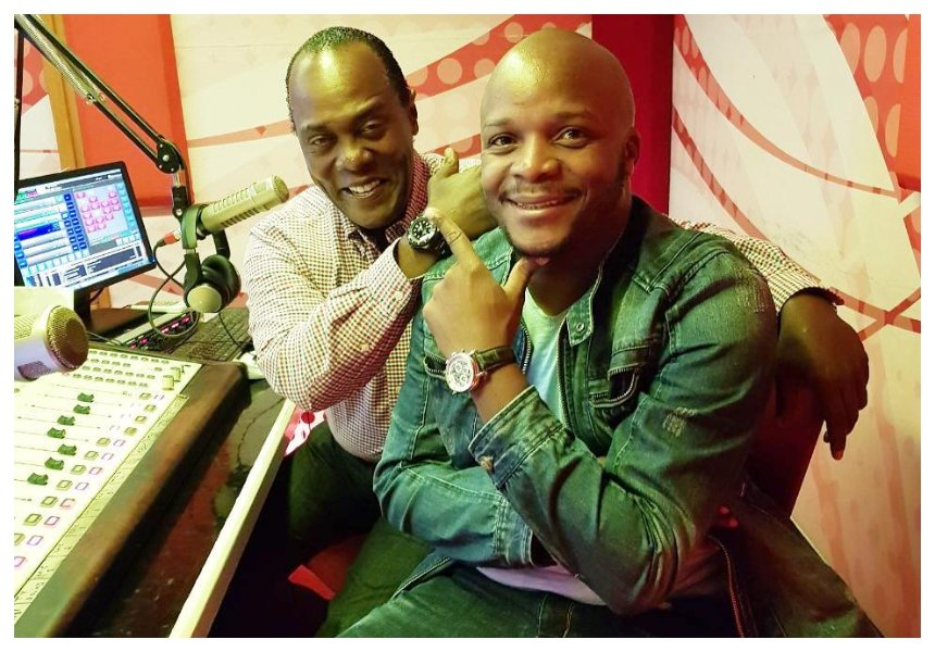 """""""I just want to be like Jeff Koinange"""" Jalang'o praises his cohost in a new post"""