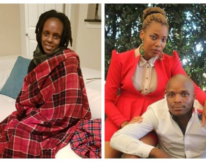 """Stop spreading lies about me"" Njambi Koikai lashes out at Jalango's baby mama Cheptoek Boyo"