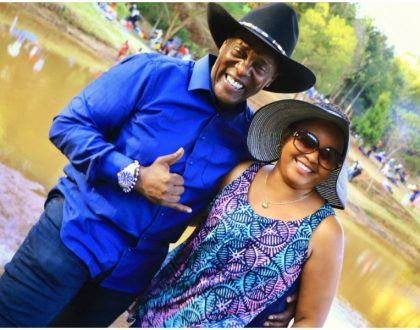 Jeff Koinange invades Anne Waiguru's private space and tweeps think they would make a perfect cowboy/cowgirl couple