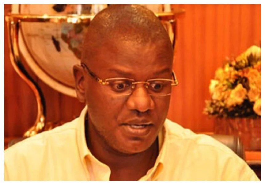 Sad! Embattled former KTN anchor Louis Otieno goes deaf