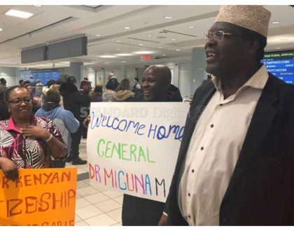 Miguna Miguna arrives in Canada to a heroic welcome (Photos)