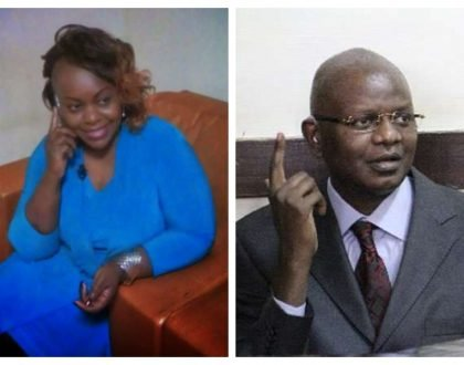 Millie Odhiambo goes to the rescue of Louis Otieno after his plight is highlighted