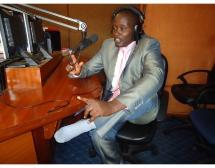 Kameme FM management speaks of suicidal presenter Moses Kanyira