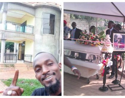Sad! Mowzey Radio's palatial mansion in Entebbe that was nearing completion (Photos)