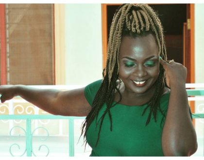 Nyota Ndogo causes a stir again with yet another horrible makeup (Photos)