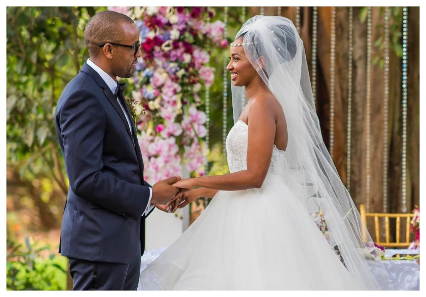 Sarah Hassan celebrates one year of blissful marriage with her husband Martin Dale