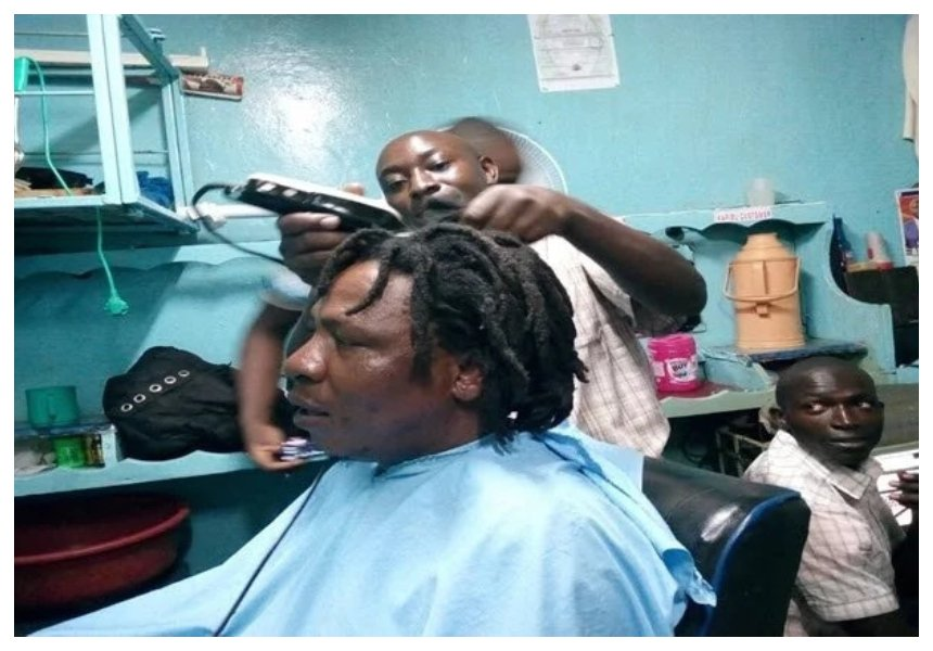 Man keeps promise and shaves dreadlocks he kept for 10 years after Raila is sworn in as president