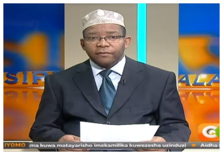 Beware of conmen posing as Swaleh Mdoe days after the news anchor reveals he is selling his kidney!
