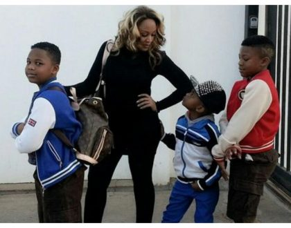 Zari Hassan spends Kes 279,000 to buy her sons Balenciaga sneakers