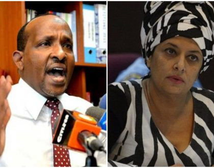 """Hiding inside my skirts using me as a punching bag"" Nazlin Umar assures Duale he's yet to see the devil in her"