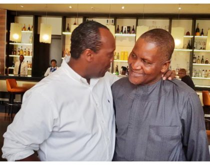 Photos: Jeff Koinange, Bill Gates among guests at the wedding of the daughter of Africa's richest man Aliko Dangote