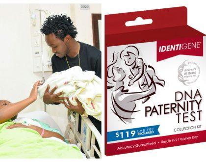 Bahati and Diana Marua fight over secret DNA paternity test?