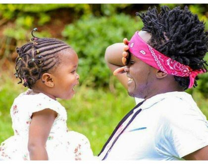 """I will raise her according to my capability"" Bahati's baby mama shuts down purveyors of moral correctness"