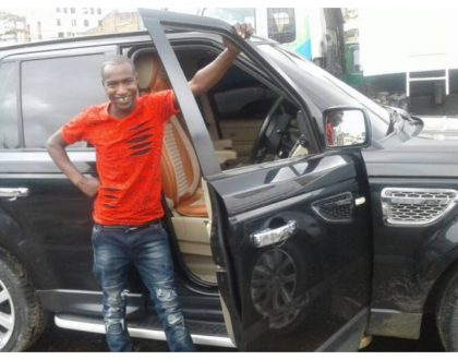 Bonoko desperate to track down KAV 458Q Landcruiser which rammed into the Range Rover that a sponsor bought him