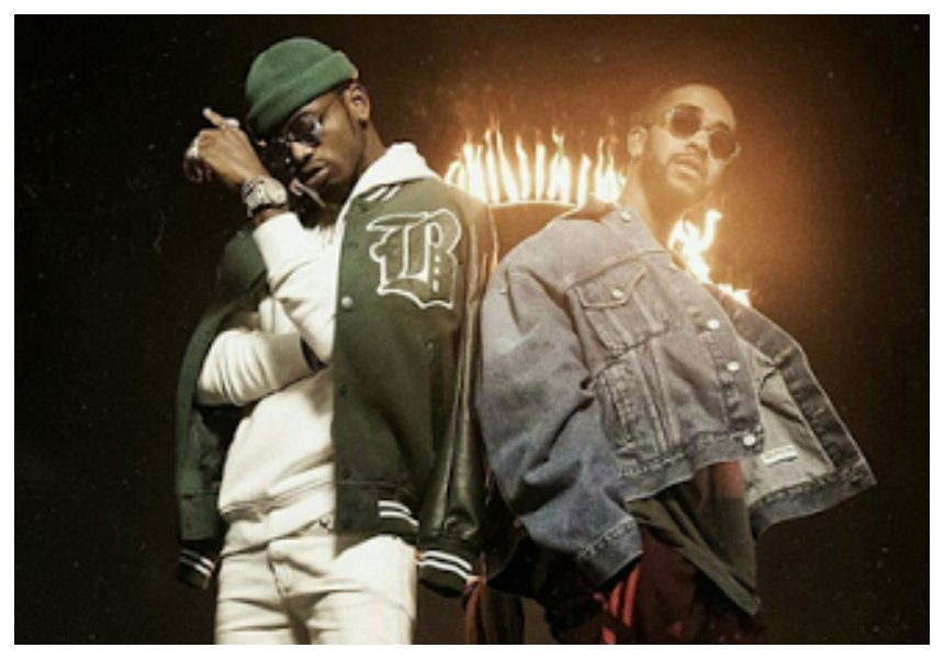 It will definitely be banned! Diamond's new music video with Omarion features models in their birthday suits (Video)