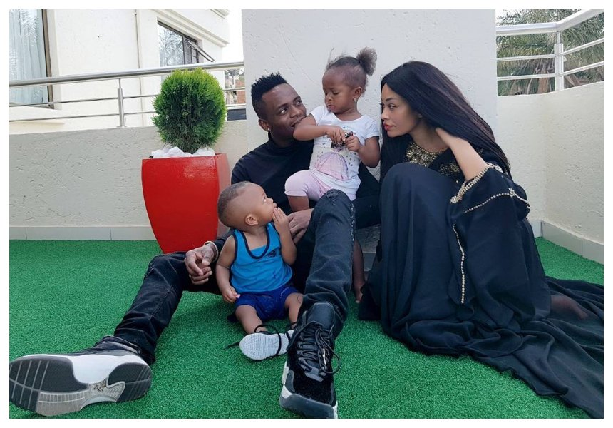 Diamond claims Zari has blocked him for seeing his kids: I see them on social media only