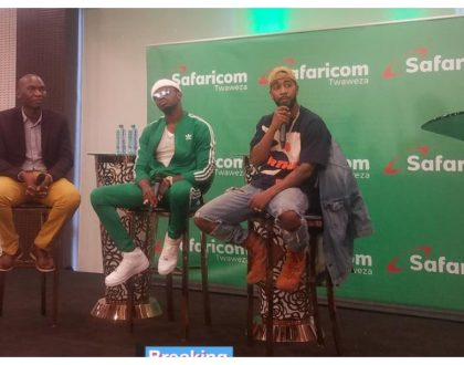 Diamond flies in Omarion ahead of his album launch in Nairobi (Photos)
