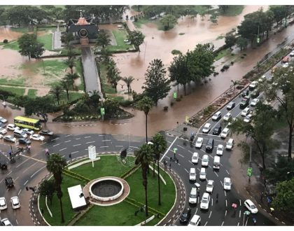 15 photos that depict the sorry state of Nairobi after heavy rains pound the city