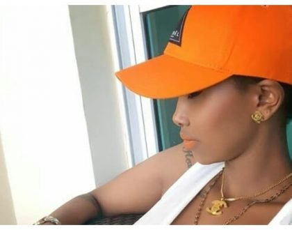 """5 other bedrooms are unoccupied"" Huddah Monroe shows off 7 bedroom mansion she lives in (Photos)"