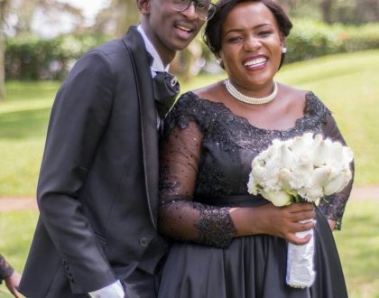 Njugush's wife shares new photo proving that pregnancy is no joke!