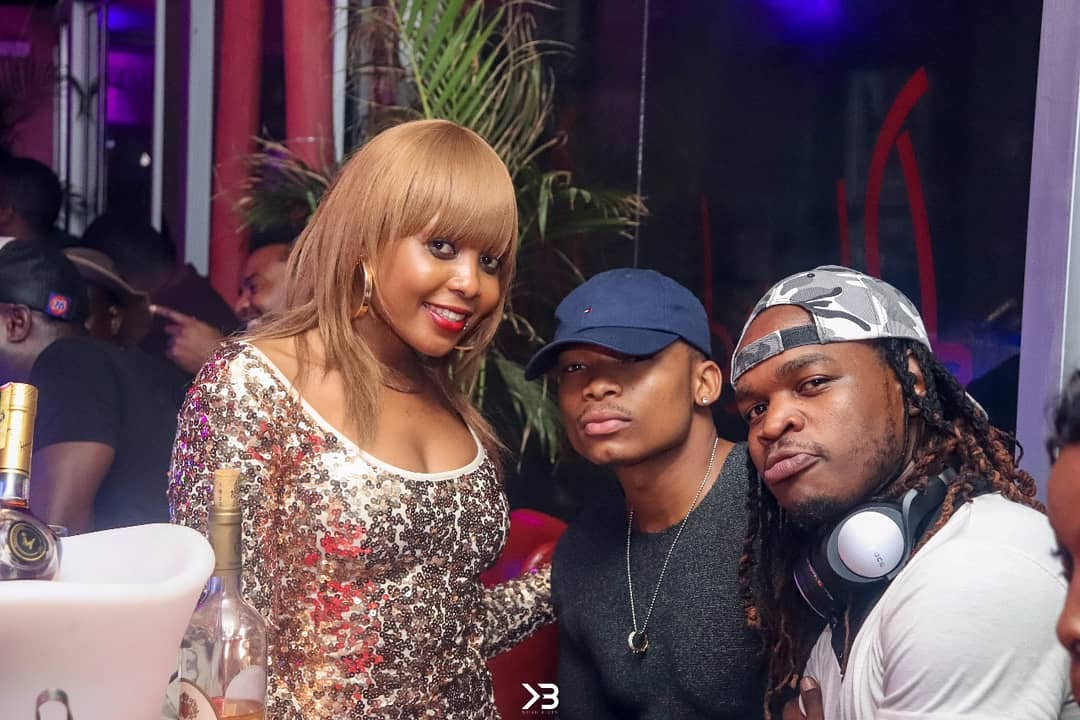 After Timmy Tdat planted a kiss on his ex girlfriend, Kush Tracy photographed grinding on Otile Brown!