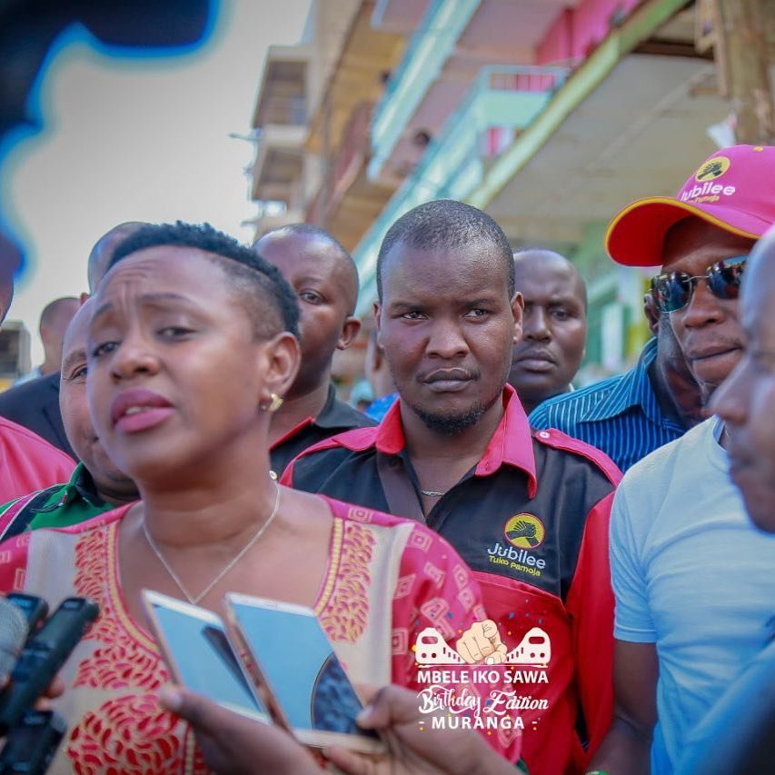 """She is a respectable lady who deserves a genuine apology!"" Jubilee politician weighs in after critics attack Hon Sabina"