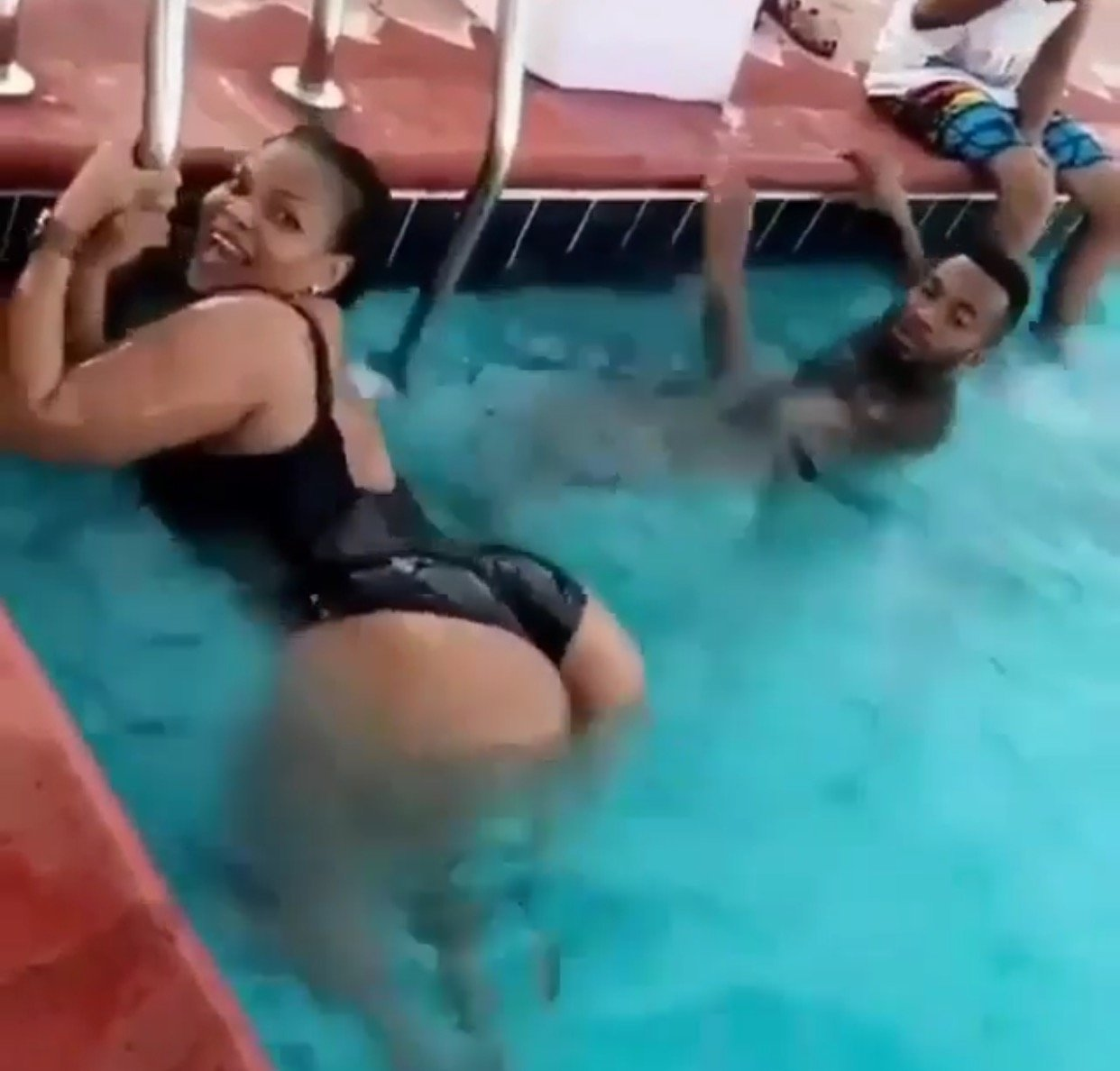 Wema Sepetu confirms her 'assets' are real as she parades them in a black swimming custome