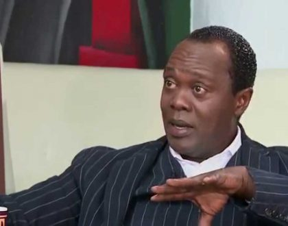 Jeff Koinange reveals shocking things that happen outside his house in Kitusuru despite government warning