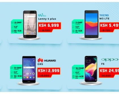 Samsung S8 is now 69,999 from 89,999! Smartphones sold at throwaway prices as Jumia Mobile Week kicks in