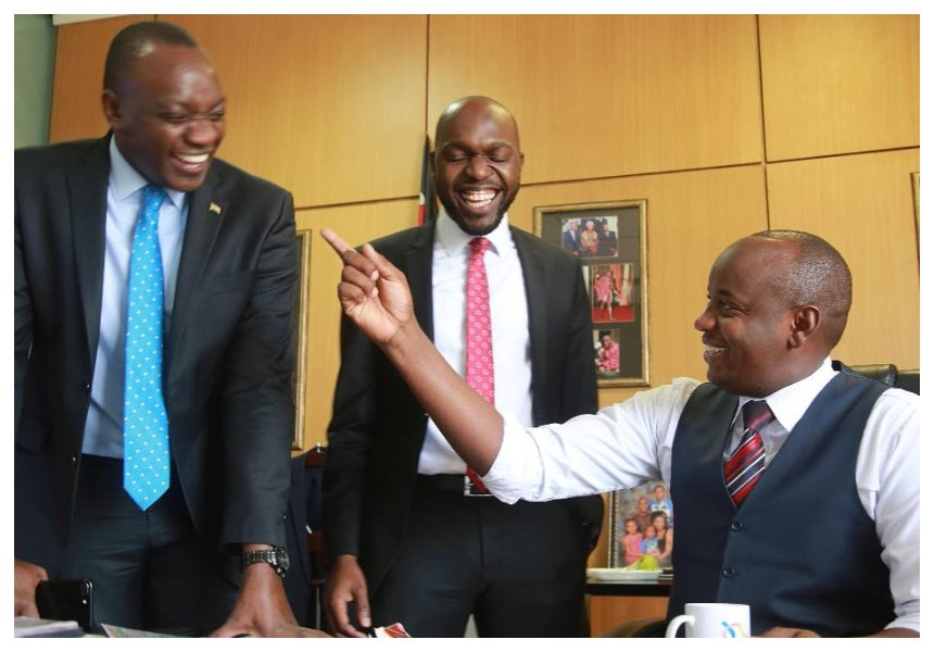 Shock on former NTV bossLinus Kaikai as government allegedly blocks him from getting a new job