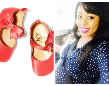 Lillian Muli spends a fortune on designer baby shoes for her unborn baby