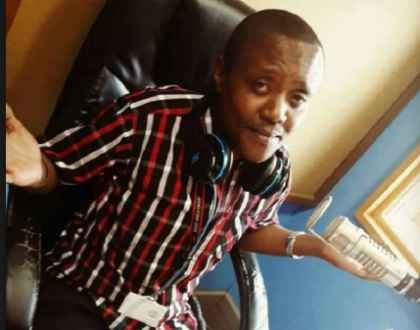 You look like a Kikuyu secular singer! Maina Kageni's bright suit leaves social media heartbroken