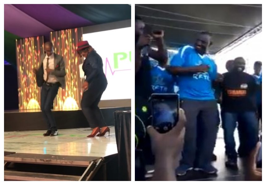 Who did it better? Njuguna, Betty Kyallo and DP William Ruto Odi dance compe