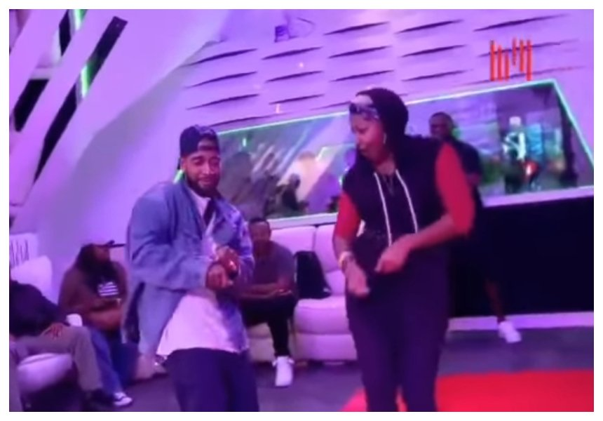 He's a fast learner! Omarion shows his Odi Dance skills and he does it better than Mwalimu Rachel (Video)