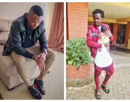 Otile Brown seeks Bahati's forgiveness
