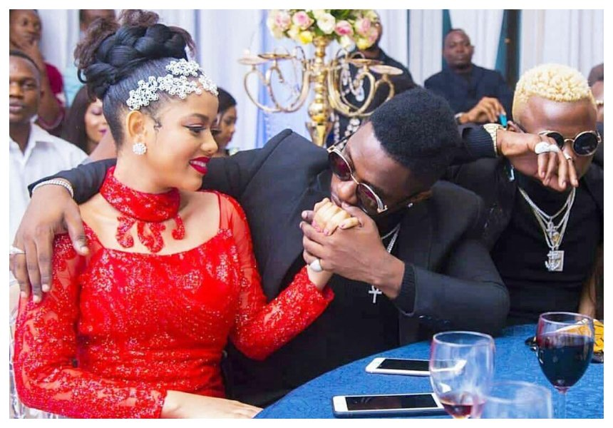 Rayvanny's baby mama responds to rumors linking her husband to Elizabeth Micheal