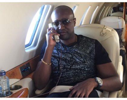 SportPesa CEO Ronald Karauri flies on a private jet just like a hustler commutes on a matatu (Photos)
