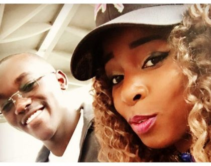 Saumu Mbuvi's baby daddy Ben Gatu pours out his heart to his daughter on her first birthday (Photos)