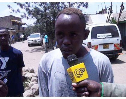 """Kwani shetani anawaitisha damu?"" Hessy warns Kayole matatu driver who ran over dancehall star Shavey (Photos)"