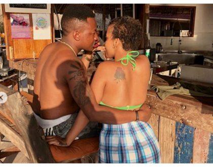 Tunda Sebastian introduces her new celebrity boyfriend while on holiday in Zanzibar (Photos)