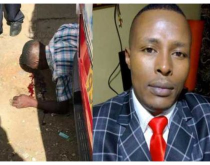 Untouchable tout now instigates arrest of witnesses... Boniface Mwangi reveals why police are colluding with him
