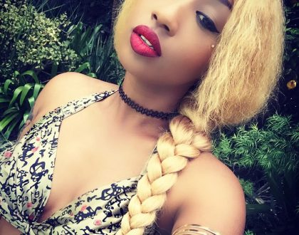 'I'll sending you eyeglass prescription' Victoria Kimani tells fans after they insist she looks like Nicki Minaj