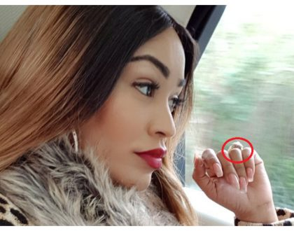Zari set tongues wagging as she flaunts expensive engagement ring (Photos)