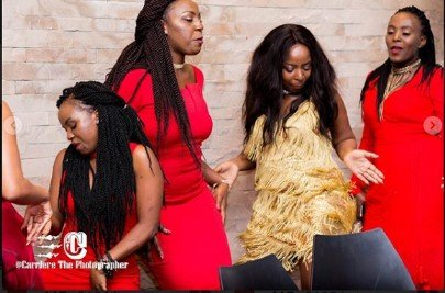 Saumu Mbuvi throws herself a lit party as she turns a year older! (Photos)