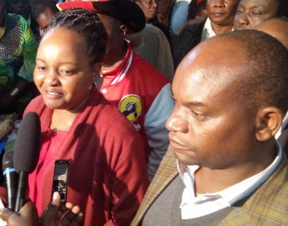 Kirinyaga Deputy Governor's wife speaks after viral video which left Kenyans shocked